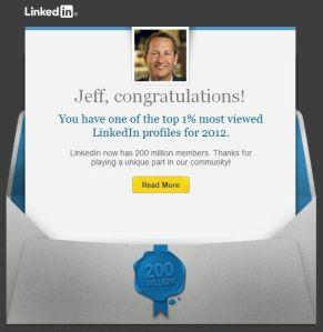 LinkedIn Top 1%