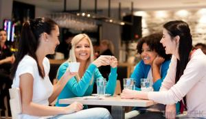 Women at Coffee Shop